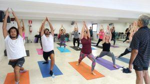 Encontro nacional de yoga