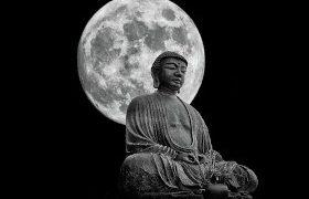 Lua cheia do Buddha