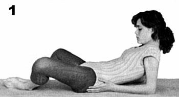 Paso 1 iniciando a postura de yoga Shavasana